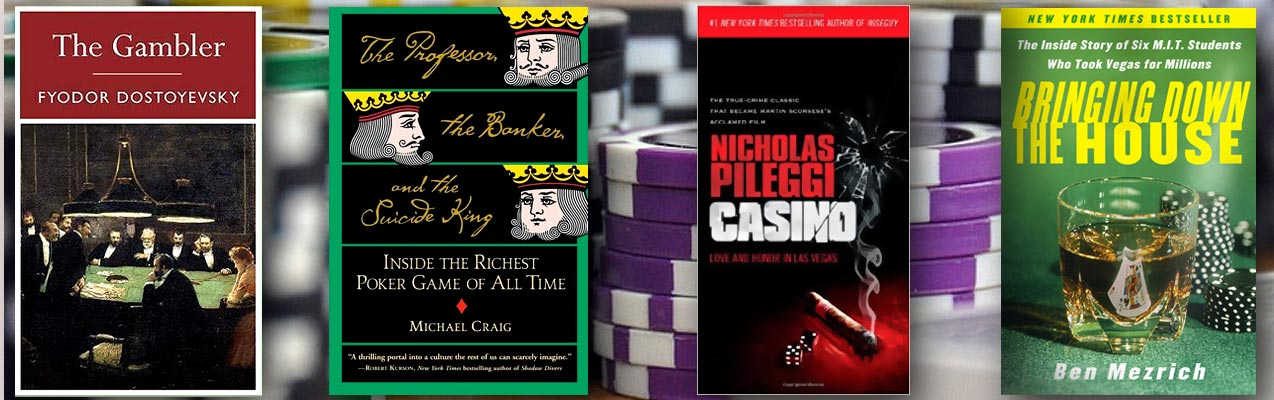 Top 12 Books on Gambling and Casinos