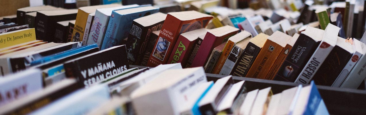 A Walk Through the Past and Present of Books
